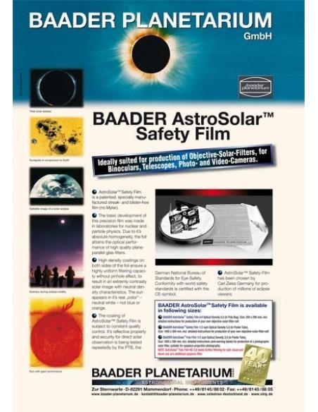 Baader Planetarium AstroSolar zonnefilter folie ND5.0 - 2459281