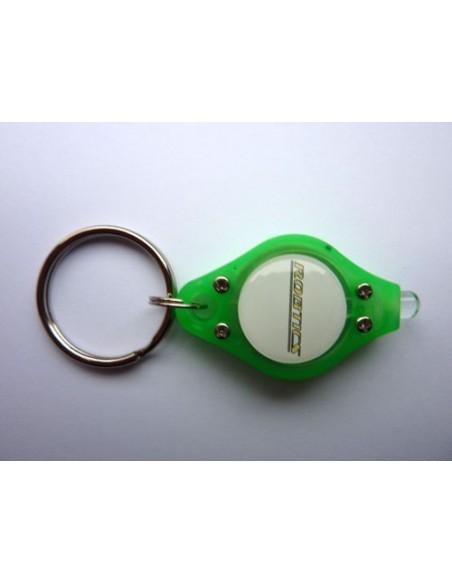 Robtics red LED key chain - green