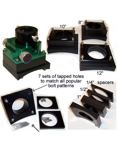 Moonlite universele adapterset for 8 inch newtons - 2