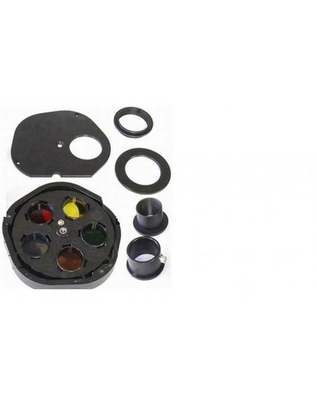 Robtics 5 position filterwheel 1,25 inch hand driven