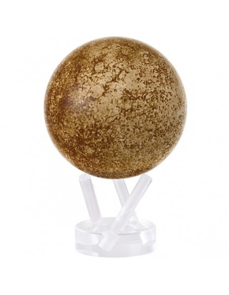 Mova Globe 4,5 inch Mercury globe that rotates freely