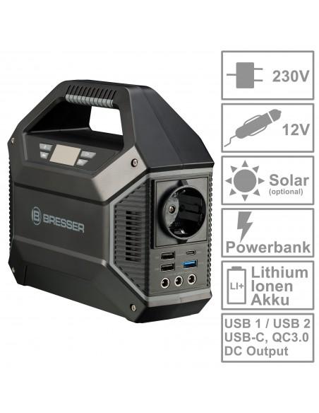 BRESSER Portable Power Supply 100 Watt - 2