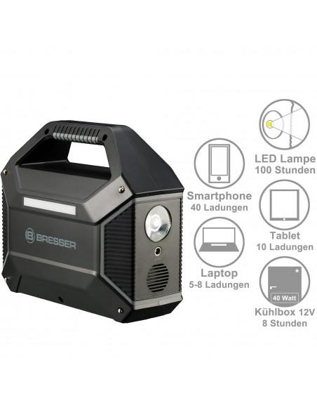 BRESSER Portable Power Supply 100 Watt - 3
