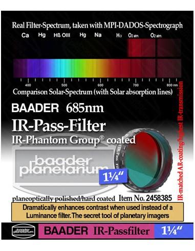 "Baader 1,25"" IR-Pass-Filter (685 nm)..."