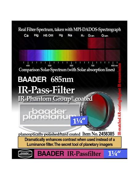 "Baader 1,25"" IR-Pass-Filter (685 nm) - 2458385"