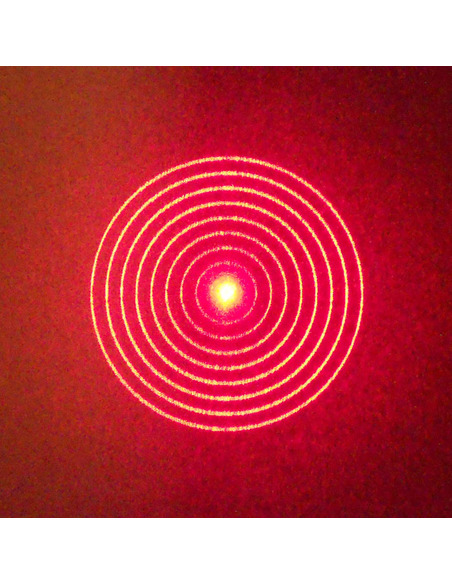 Howie Glatter Holographic Attachment with Concentric Circle pattern - 2