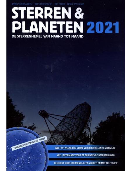 Sterren & Planeten 2021, de sterrenhemel van maand tot maand