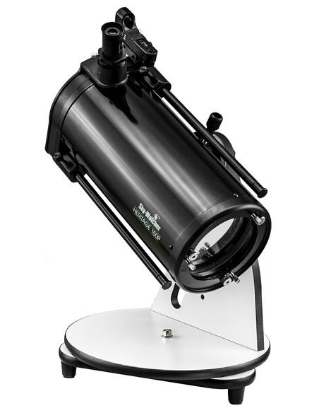 "Sky-Watcher Heritage-150P FlexTube 150mm (6"") f/750 Parabolic Dobsonian Telescope - 3"