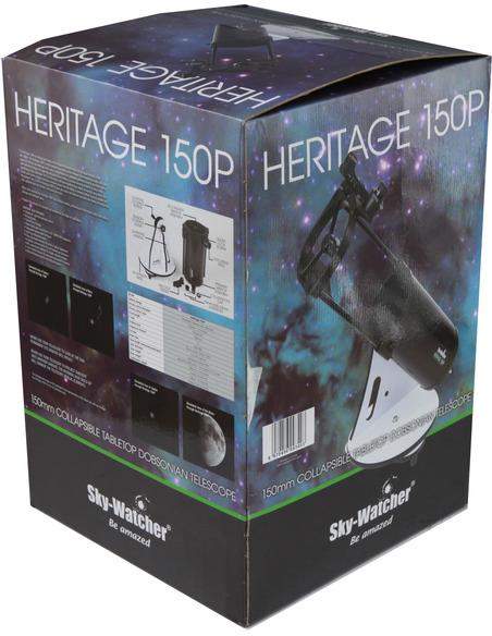 "Sky-Watcher Heritage-150P FlexTube 150mm (6"") f/750 Parabolic Dobsonian Telescope - 6"