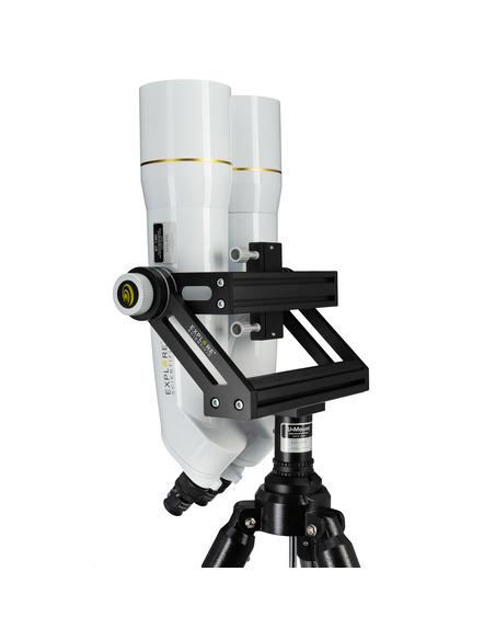 Explore Scientific BT-120 SF Giant Binocular with 62° LER Eyepieces 20mm - 6