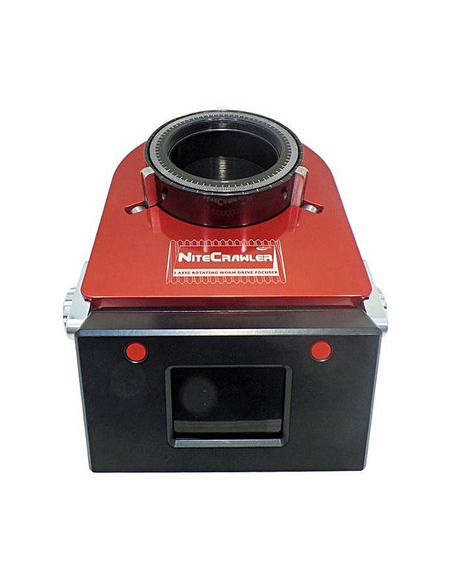 Moonlite NightCrawler WR35 3.5 inch Dual-Axis Rotator and Focuser - 3