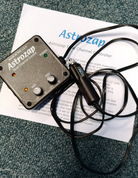 AstroZap Dual Channel Controler for dew heaters - OCCASION - 1