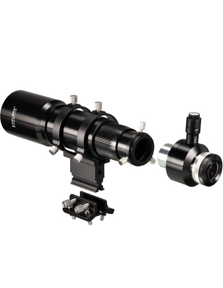 Explore Scientific 10x60 Finder and Guider Scope with Helical Focuser, 1.25inch and T2 connection - 2