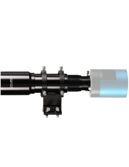 Explore Scientific 10x60 Finder and Guider Scope with Helical Focuser, 1.25inch and T2 connection - 4