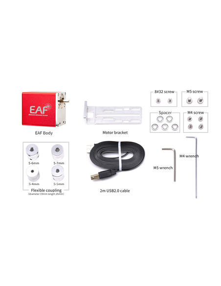 ZWO New EAF 5V (Electronic Automatic Focuser) with hand controller and temperature sensor - 7