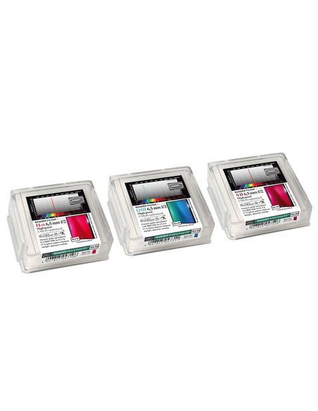 Baader 6.5nm f/2 Highspeed-Filterset 50x50mm - CMOS-optimized (H-alpha / O-III / S-II)