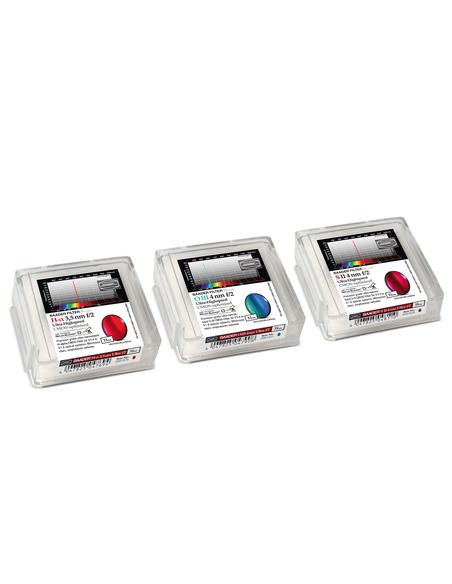 Baader 3.5 / 4nm  f/2 Ultra-Highspeed-Filterset 31mm - CMOS-optimized (H-alpha / O-III / S-II)