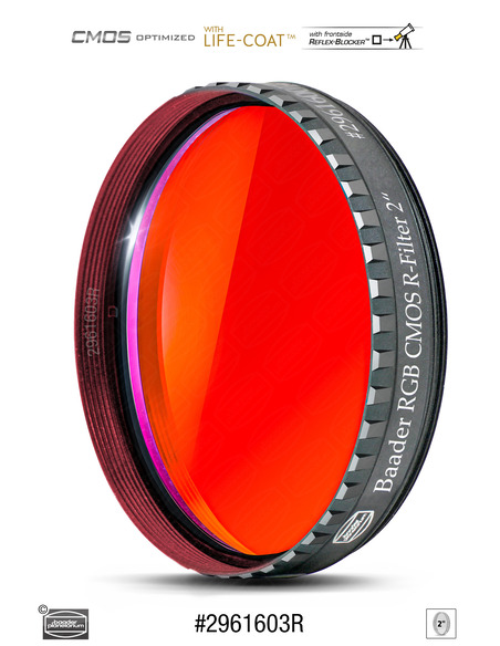 "Baader RGB-R 2"" Filter - CMOS-optimized - 2961603R - 1"