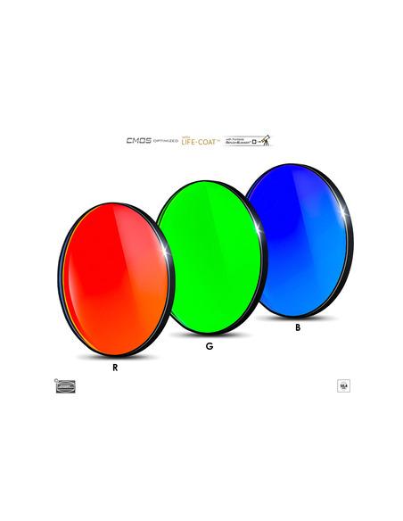 Baader RGB 50.4mm Filterset - CMOS-optimized - 2961604 - 1