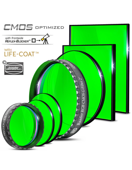Baader RGB-G 50.4mm Filter - CMOS-optimized - 2961604G - 3