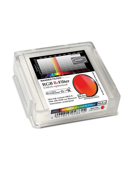Baader RGB-R 50.4mm Filter - CMOS-optimized - 2961604R - 2