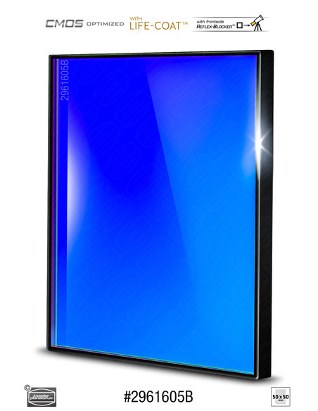 Baader RGB-B 50x50mm Filter - CMOS-optimized - 2961605B - 1
