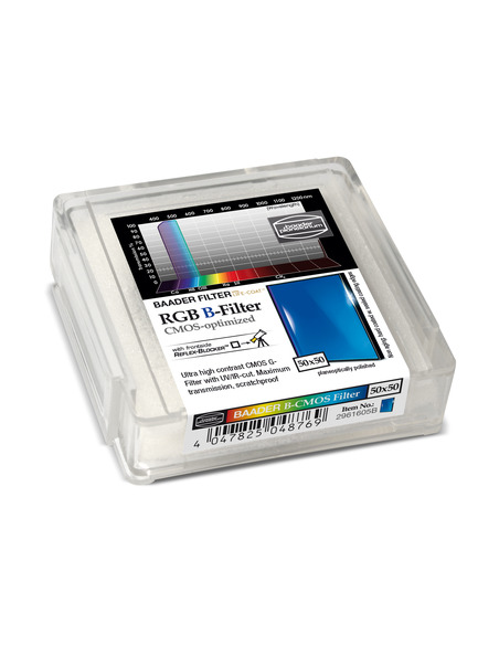 Baader RGB-B 50x50mm Filter - CMOS-optimized - 2961605B - 2