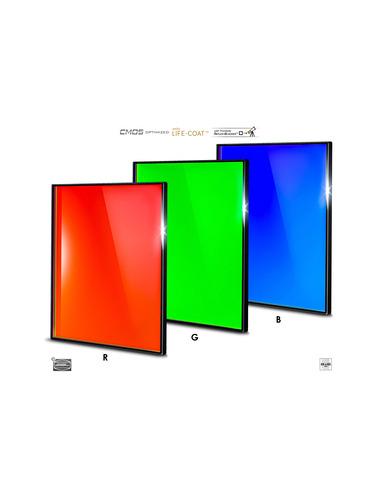 Baader RGB 65x65mm Filterset - CMOS-optimized - 2961606 - 1
