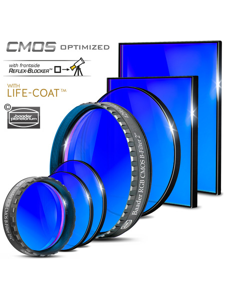 Baader RGB-B 65x65mm Filter - CMOS-optimized - 2961606B - 3