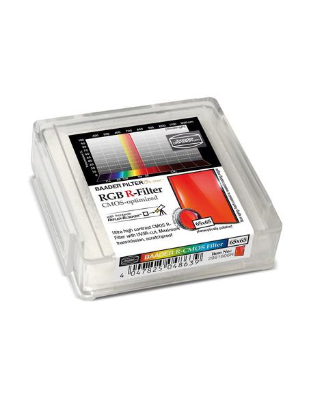 Baader RGB-R 65x65mm Filter - CMOS-optimized - 2961606R - 2