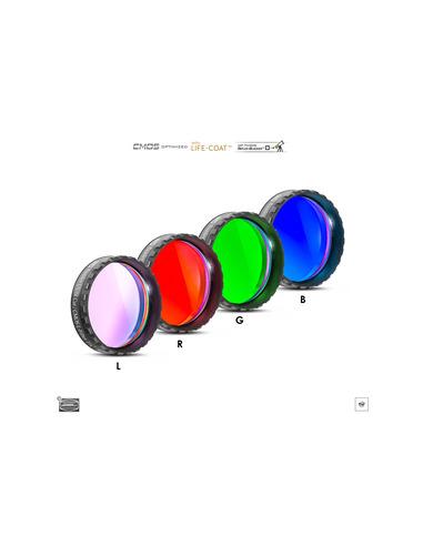 "Baader LRGB 1¼"" Filterset - CMOS-optimized - 2961610 - 1"
