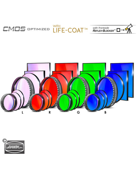 Baader LRGB 31 mmmm Filterset - CMOS-optimized - 2961611 - 3