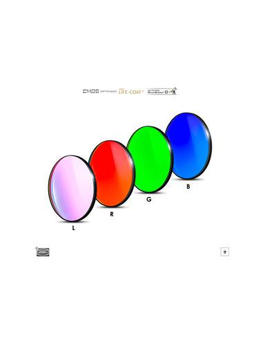 Baader LRGB 36 mmmm Filterset - CMOS-optimized - 2961612 - 1