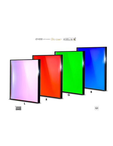 Baader LRGB 50x50mm Filterset - CMOS-optimized - 2961615 - 1