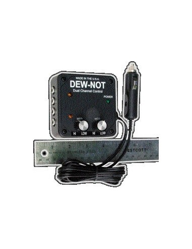 Dew-Not dual channel controller for dew heaters - 2
