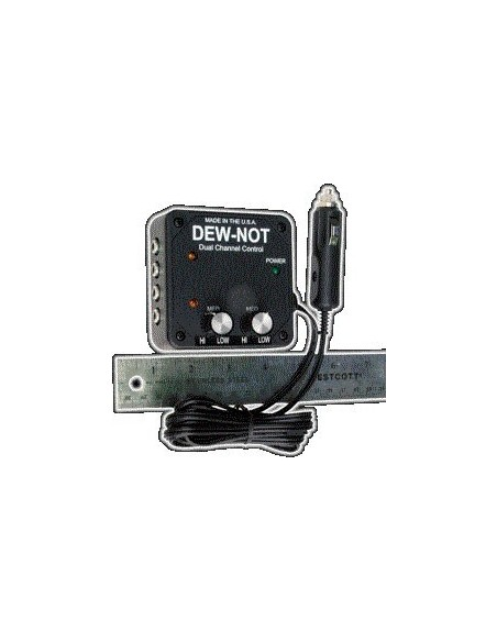 Dew-Not dual channel controller for dew heaters