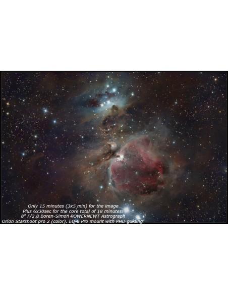 Boren-Simon PowerNewt 2.8-8ED Astrograph 8 inch F2.8 - 7