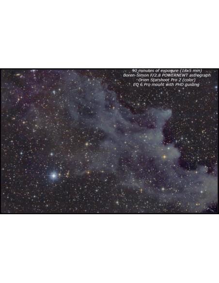 Boren-Simon PowerNewt 2.8-8ED Astrograph 8 inch F2.8 - 8