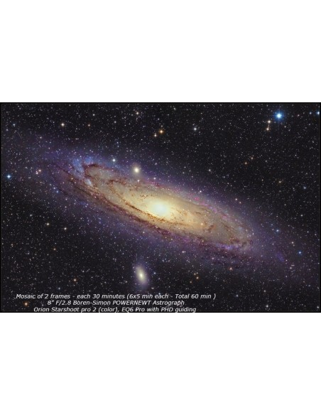 Boren-Simon PowerNewt 2.8-8ED Astrograph 8 inch F2.8 Carbon - 7