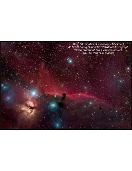 Boren-Simon PowerNewt 2.8-8ED Astrograph 8 inch F2.8 Carbon - 8