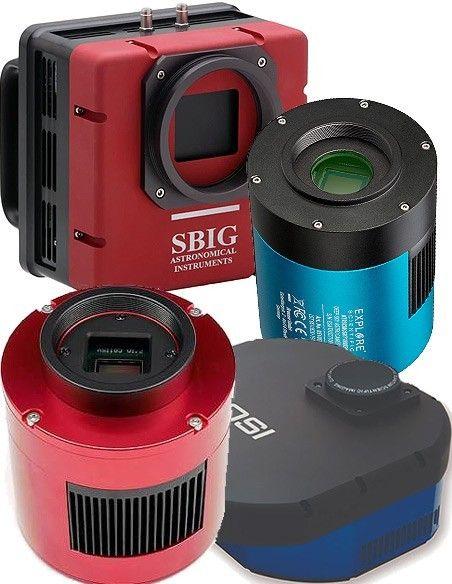 CCD/CMOS camera's