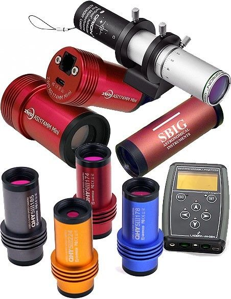 Guider cameras